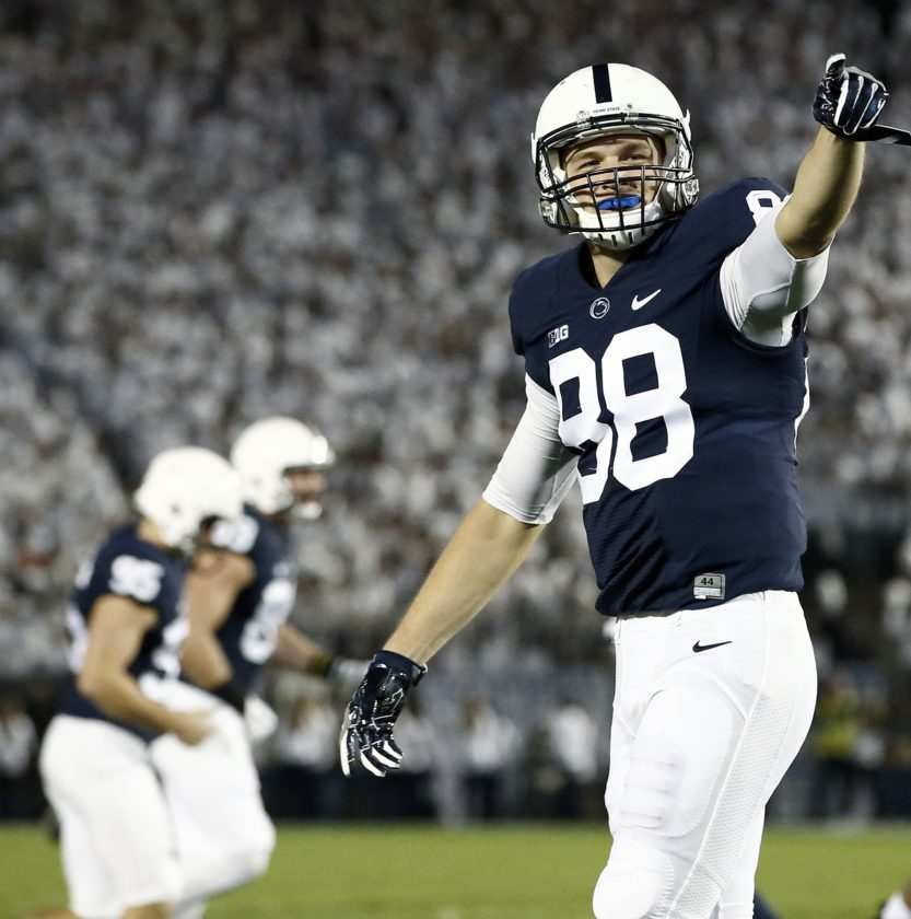 ASSOCIATED PRESS Mike Gesicki and Penn State look to rebound today at Michigan State.