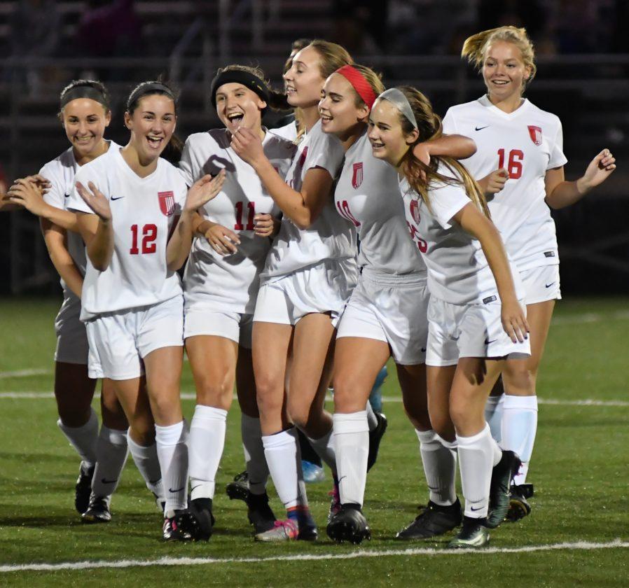 MARK NANCE/Sun-Gazette Williamsport's girls soccer team won its second District 2-4 AAAA title this past week.
