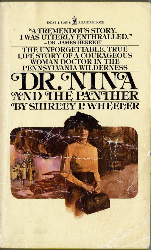 "PHOTO PROVIDED ""Dr. Nina and the Panther"" by Shirley P. Weaver. Bantam Edition. 1978."