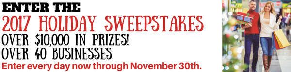 2017 Holiday Sweepstakes