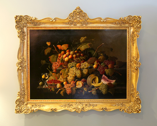 PHOTOS PROVIDED The Meadows, A Park Home Personal Care Community, will host a Holiday Open House from 11:30 a.m. to 3:30 p.m. Sunday at 2160 Warrensville Road, Montoursville. Shown are two still lifes by Severin Roesen, which will be on display at the event.
