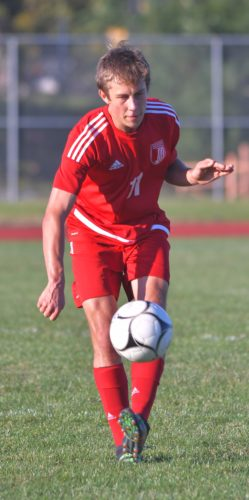 Williamsport's Tiarnan Ferry plays during a game earlier this season. (SUN-GAZETTE FILE PHOTO)