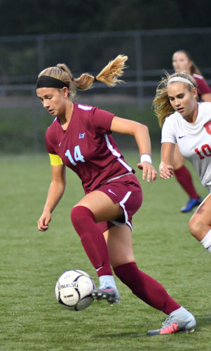 Loyalsock's Rhiallie Jessell plays during a game against Williamsport this year. (SUN-GAZETTE FILE PHOTO)