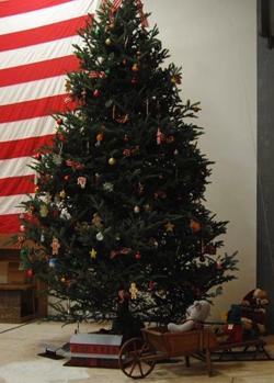BILL BOWER/Sun-Gazette Correspondent The Christmas tree often is called Christ's tree.