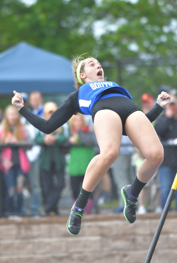 3. Katie Jones of South Williamsport recovers from     offseason injury to set state girls pole vault record in districts and repeating her PIAA title.