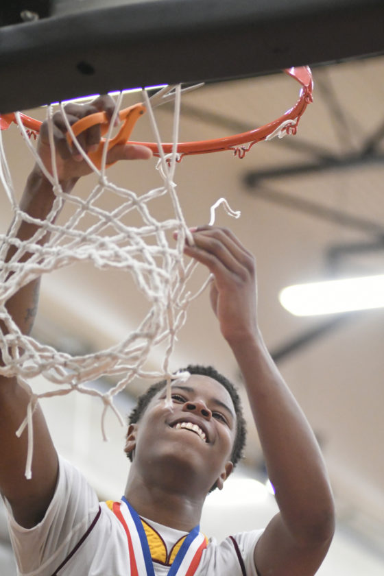 4. Kevin Anderson of St. John Neumann statewide boys   basketball Class A player of the year as Neumann wins fifth straight District 4 title and runs its regular-season win streak to 90 games.