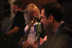 PHOTO PROVIDED Aaron Kelly and Flipside Band will countdown to 2018 9:30 p.m. Sunday at The Holiday Inn Ballroom, 100 Pine St.