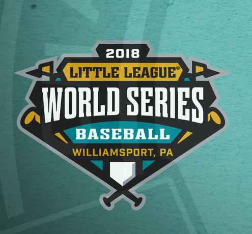 "PHOTO PROVIDED The above image is the official logo for the 2018 Little League Baseball World Series in South Williamsport. The seven LLWS logos are all of similar design, with the host city listed below ""BASEBALL"" and ""SOFTBALL"" on the logo."