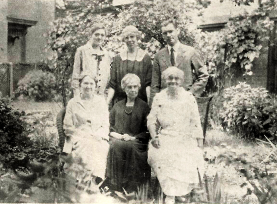 Mulbery M.E. Church mothers and missionary children from Susquehanna Conference. Pictured in the story is Sadie J. Sheffer  from The Chronicle: Journal of the Historical Society of the Central Pennsylvania Conference of the United Methodist Church.