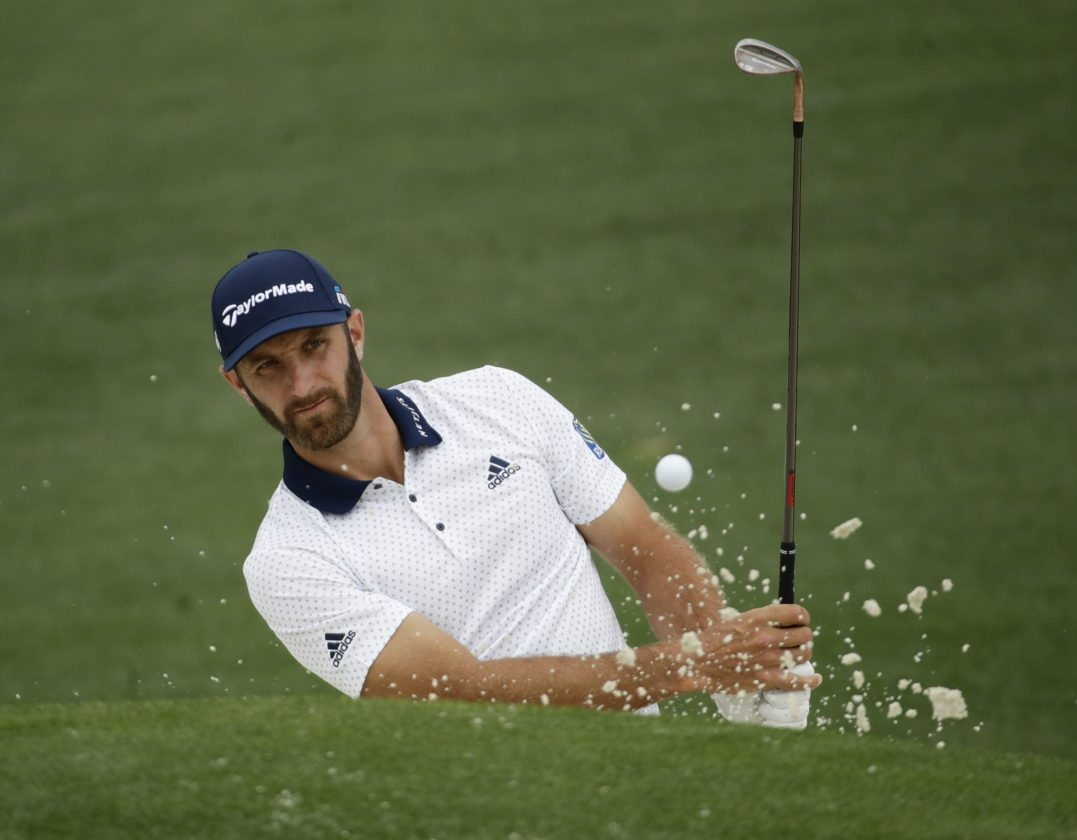 dustin johnson u2019s goal is to get to the 1st tee