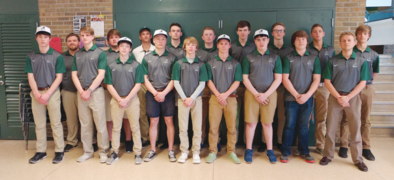 news photo by james andersen the alpena boys golf team includes coach eric mitchell assistant coach tate skiba zach ross jake vought frank hnup - Golf Assistant Jobs