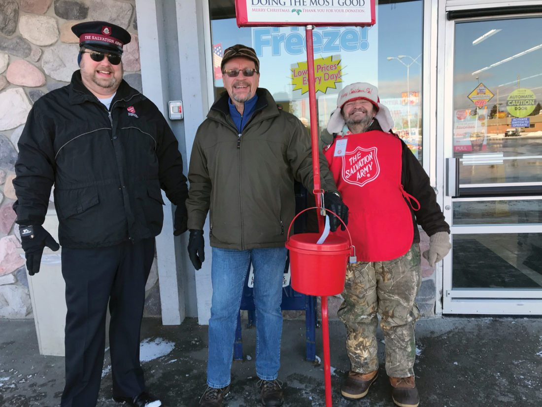 Salvation Army Christmas Kettle campaign kicks off