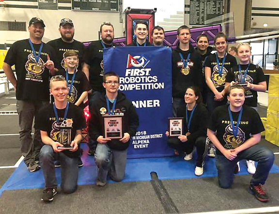 Posen Robotics Team Heads To First World Championships News