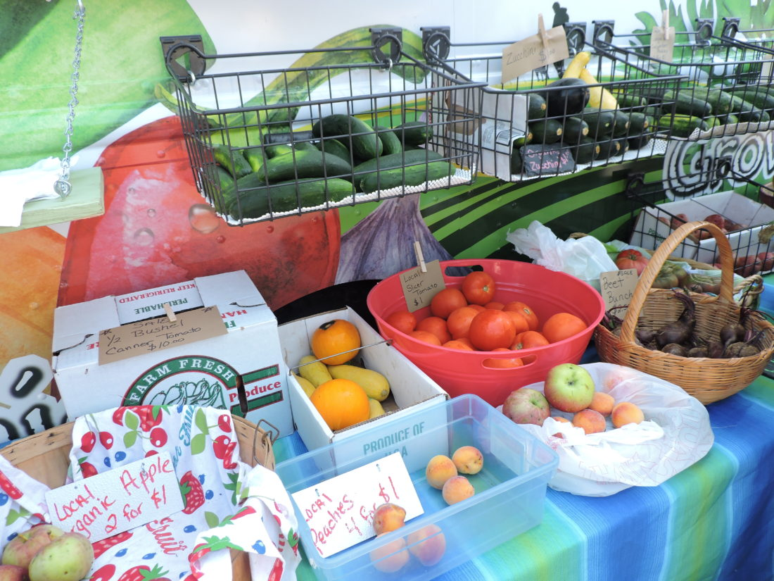 File Photo Grow Ohio Valley offers a mobile farmers' market at various locations throughout the area.