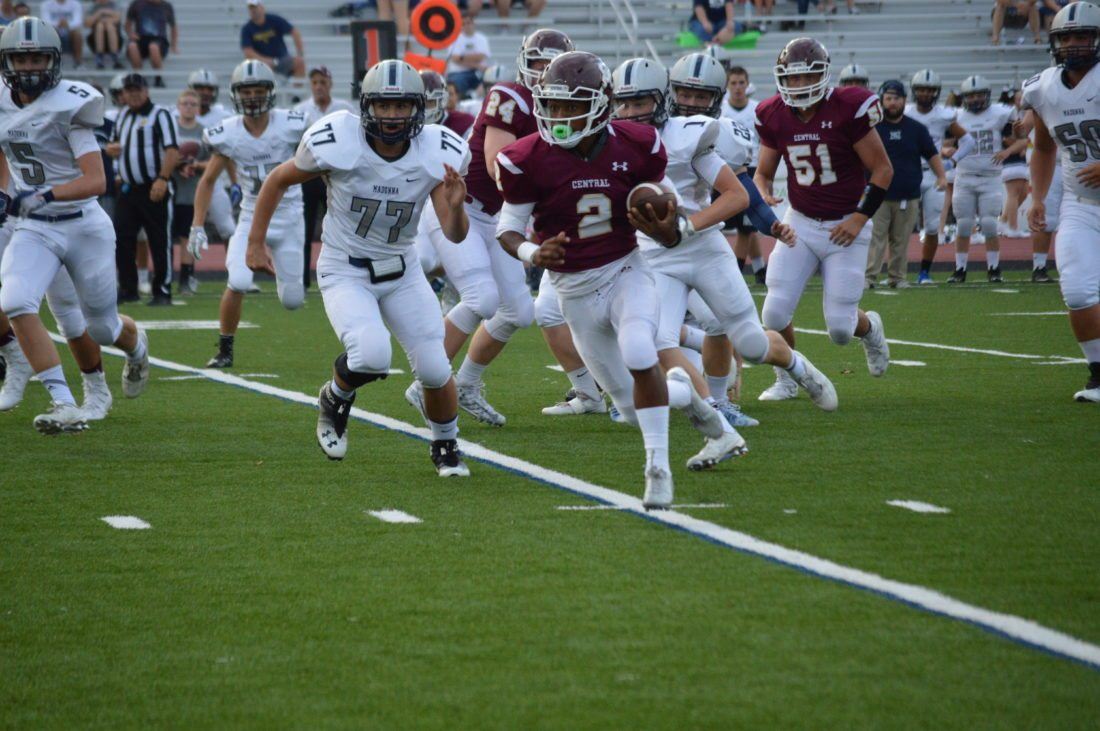 Wheeling Central Football Downs Madonna, 47-28 | News ...