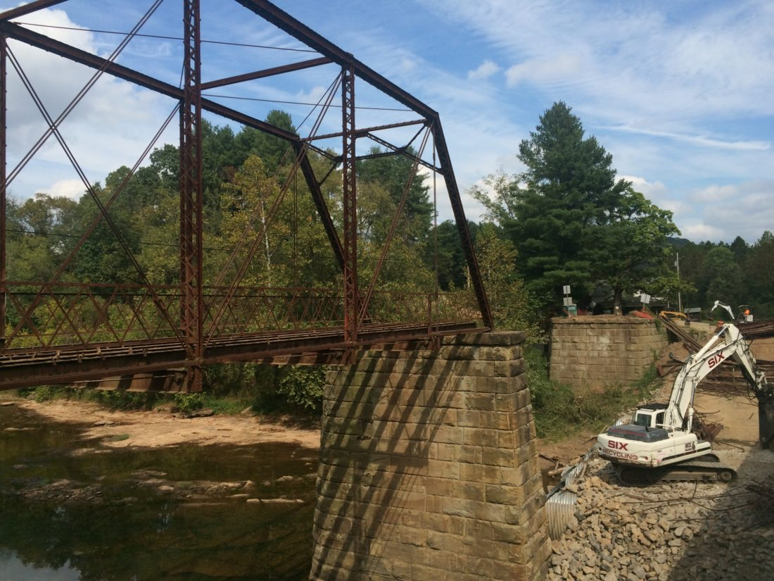Tyler County Bridge Made Famous By Shiloh Books Fades Into History Truss Diagram Elevation Save News Sports Jobs The Intelligencer