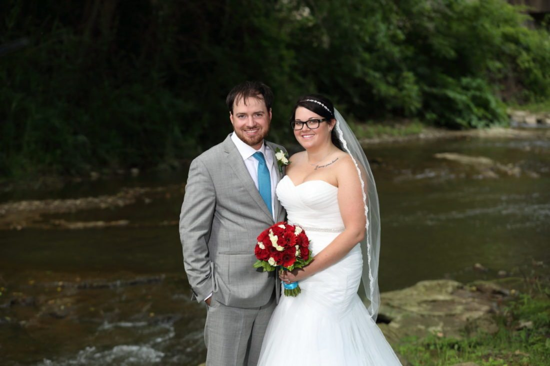Mr. and Mrs. Ryan Edward Droppleman Jessica Lynn Mercer