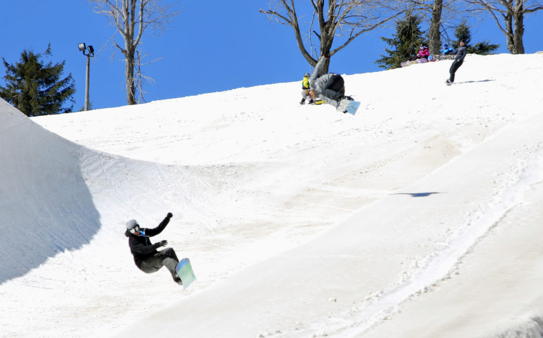 ski snowboard areas open at laurel mountain in pennsylvania news sports jobs the intelligencer