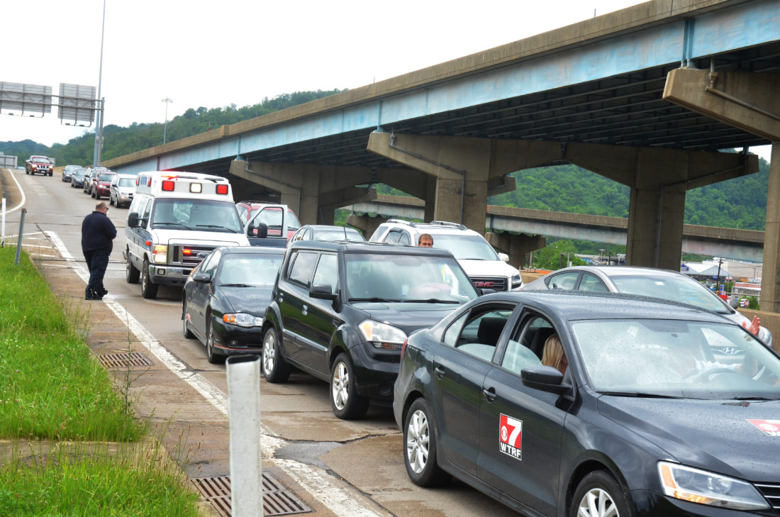 West Virginia Car Accident Reports >> Two Injured in Four-Car Accident on Interstate 470 in Wheeling   News, Sports, Jobs - The ...