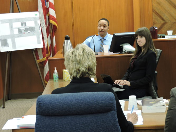 File photo Dallas Acoff testifies during his September murder trial in Ohio County Circuit Court.