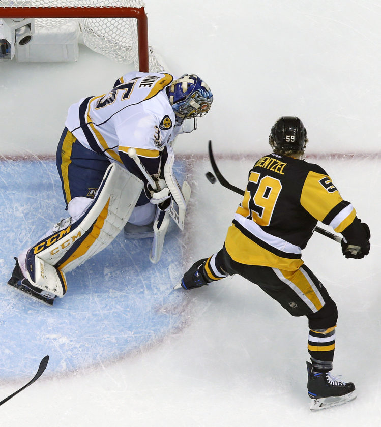 Stanley Cup Notebook: Opportunistic Penguins Grab Control Of Series