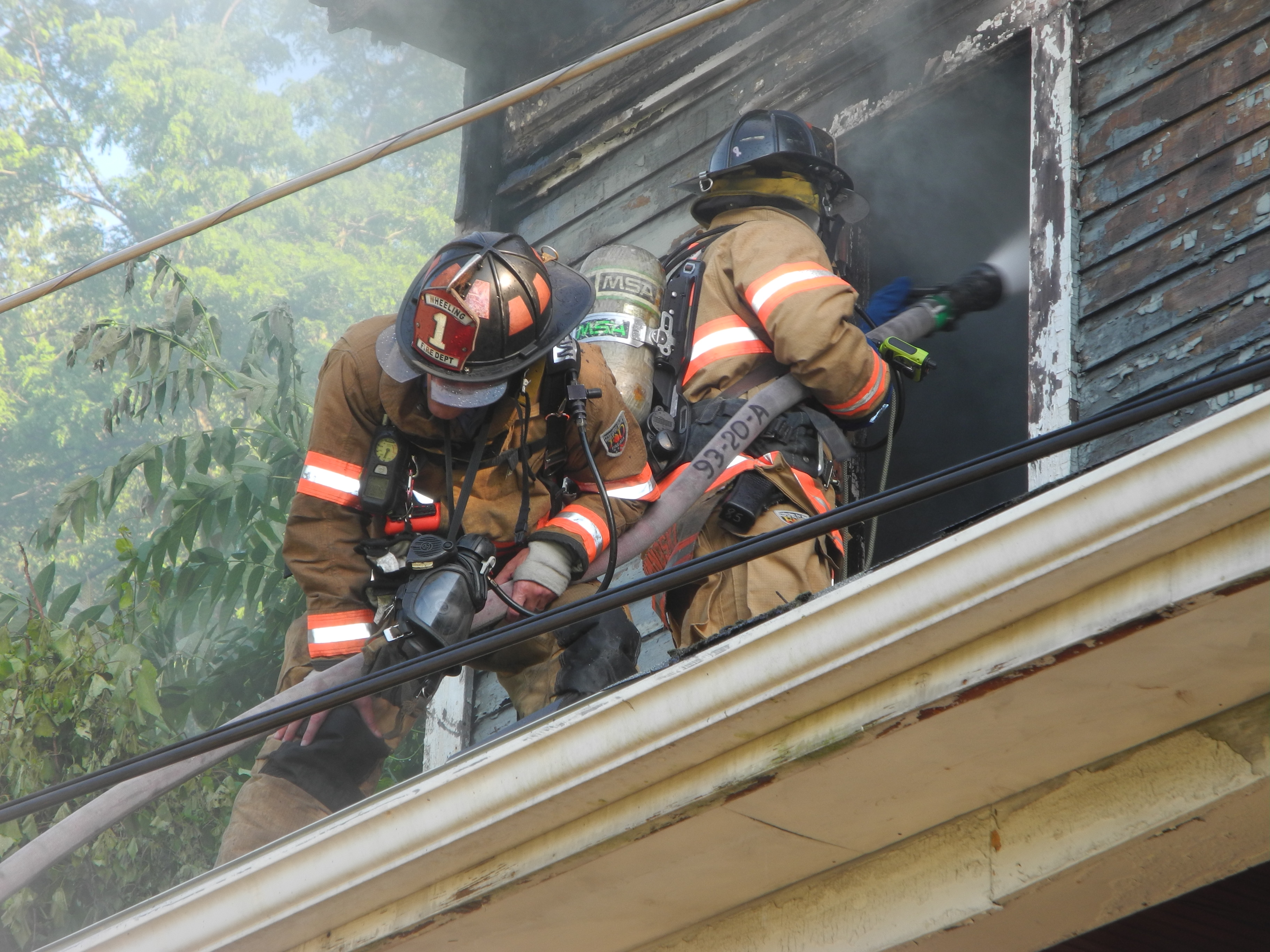 Crews Battle Fire at Vacant House in Wheeling   News ...