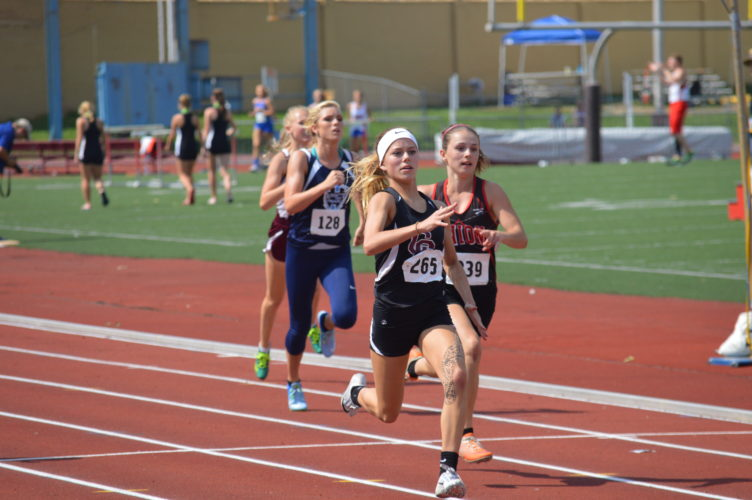Kenadee Wayt and Ireland Wayt have had running in their blood their entire lives. Recently the sisters helped spearhead the Wheeling Central girls' team to a West Virginia Class A state track championship.