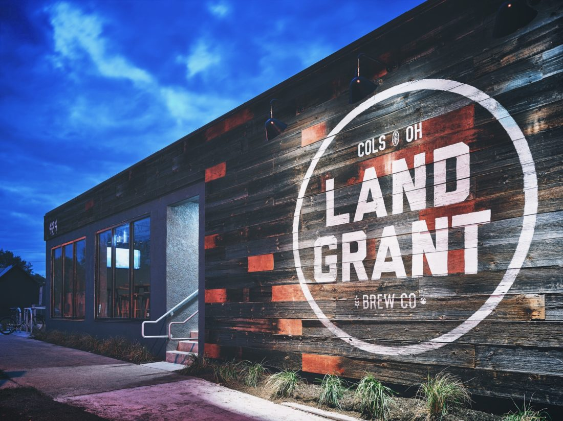 Land Grant Brewing on West Town Street inthe Franklinton area of Columbus.