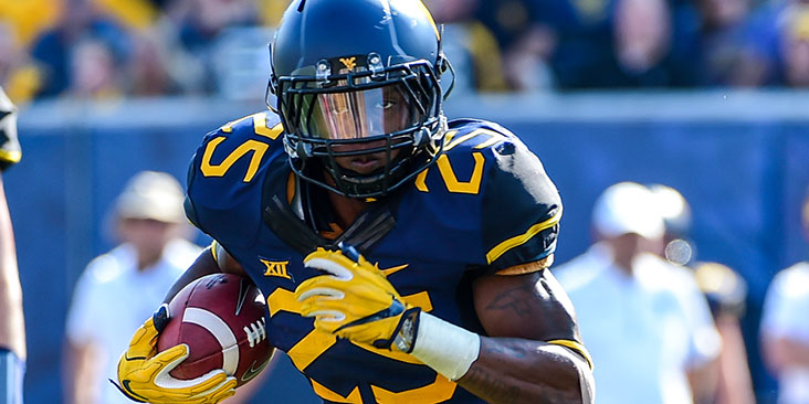 The Big 12 Newcomer of the Year in 2016, West Virginia is expecting big things again this season from running back Justin Crawford.