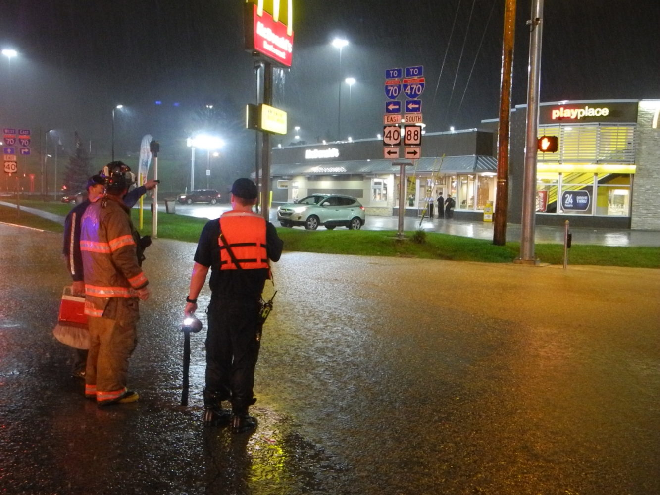 Authorities Recover Body From Ohio River As Flash Flooding