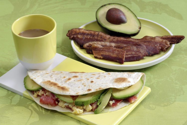 This photo shows breakfast tacos at the Institute of Culinary Education in New York. This dish is from a recipe by Elizabeth Karmel.