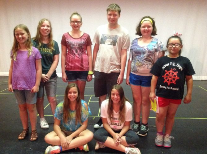 Seussical JR Cast 4