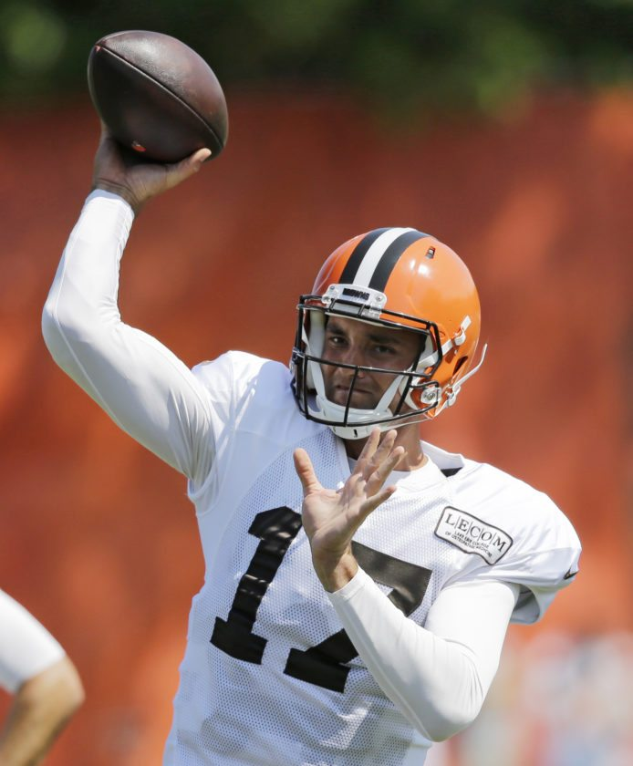 Browns name Brock Osweiler starter for 2nd preseason game