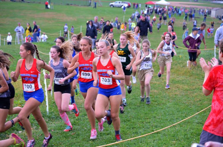 File Photo by Scott McCloskey Wheeling Park cross country will be holding a one-day alumni race Oct. 14.