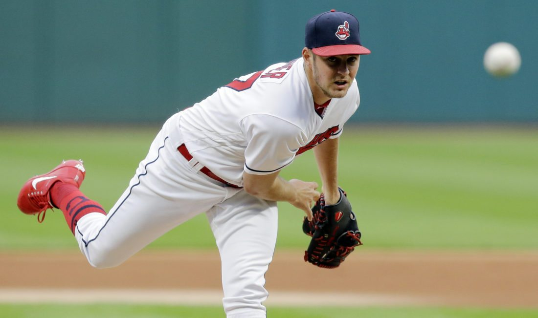 Indians batter Sale, Red Sox