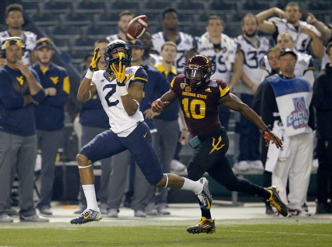 First DUI charge against WVU WR Marcus Simms dismissed; still suspended for Virginia Tech game