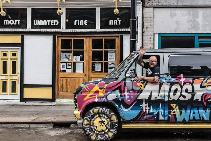 Photos Provided Three art cars, such as this one created by Jason Sauer of Pittsburgh's Most Wanted Fine Art, will be on display for the opening reception of the contemporary art exhibit #OpenOnPenn Thursday at Oglebay Institute's Stifel Fine Arts Center.