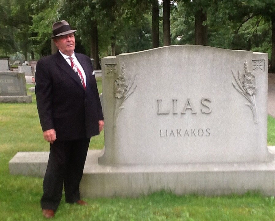 Dave Clutter will portray Bill Lias during the tour of Greenwood Cemetery.