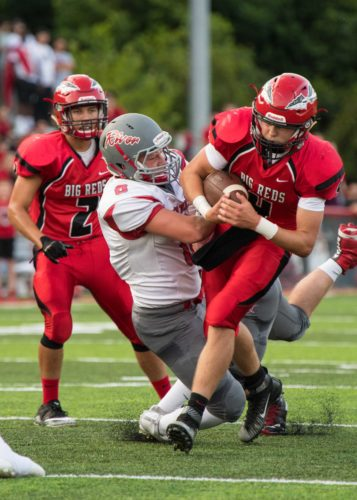 Photo Provided Bellaire's Thor Duffy has been tough to bring down all season
