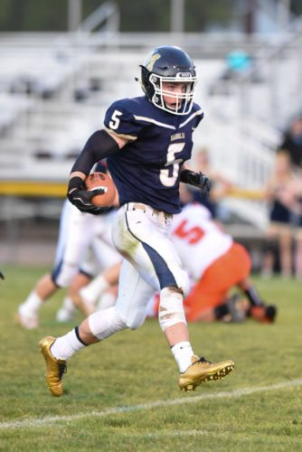 Photo by Kayla Ruble River will look to try to contain Magnolia's Brooks Parsons tonight.