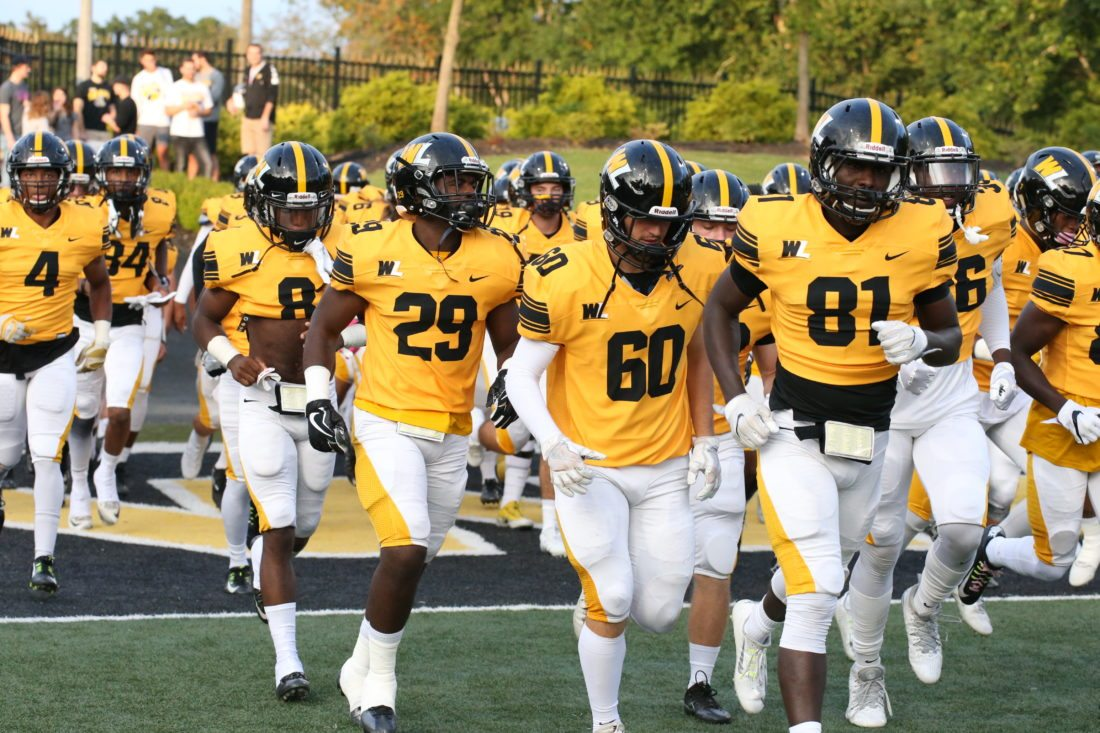 File Photo by Alex Kozlowski The West Liberty Hilltoppers look to bounce back after suffering a loss to West Virginia Wesleyan last week.