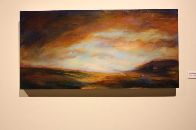 Photo Provided This painting among others by Nicole Renee Ryan is on display at the Nutting Gallery at West Liberty University through Oct. 19.