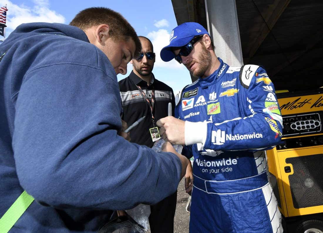 Dale Earnhardt Jr. quotes JFK, says Americans have right to 'peaceful protests'