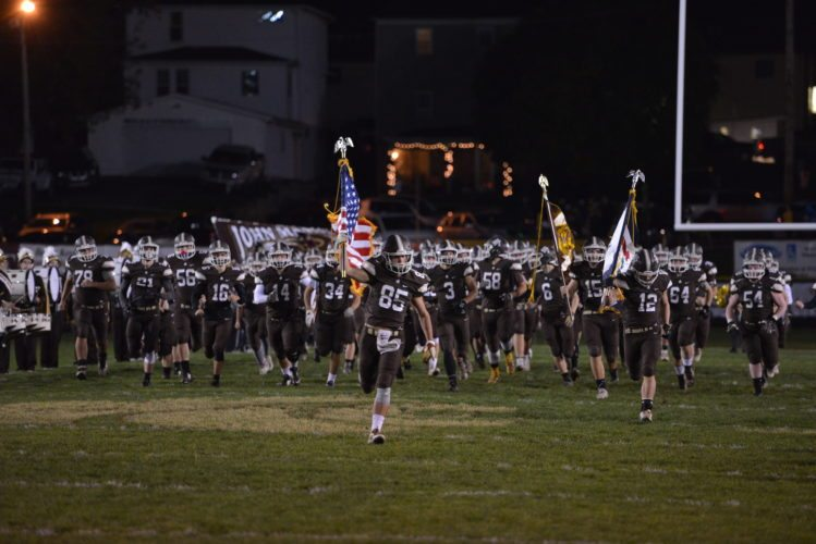 Photo by Scott McCloskey John Marshall will look to pull off an upset when it travels to take on defending state champion Martinsburg on Friday.