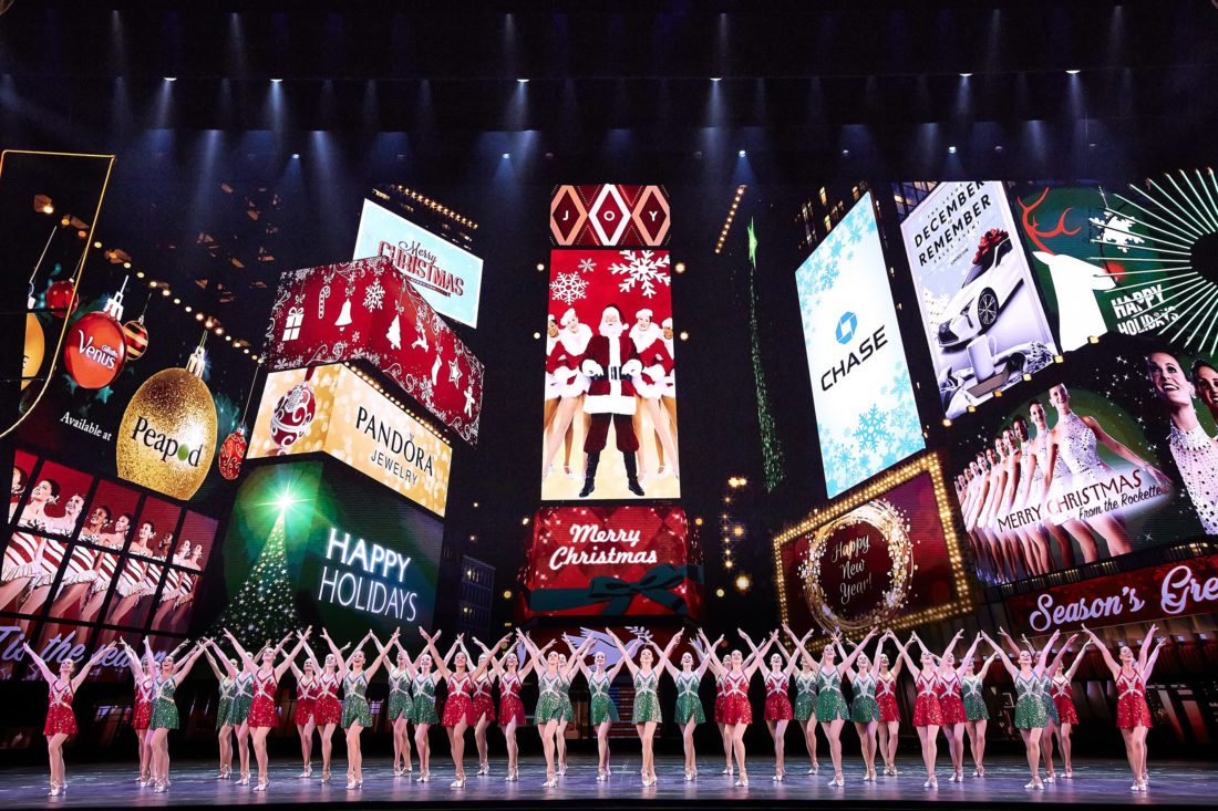 "This Nov. 7, 2017 photo released by Madison Square Garden shows the dress rehearsal for the ""Radio City Christmas Spectacular,"" currently performing through Jan. 1 at Radio City Music Hall in New York. (Carl Scheffel/MSG via AP)"