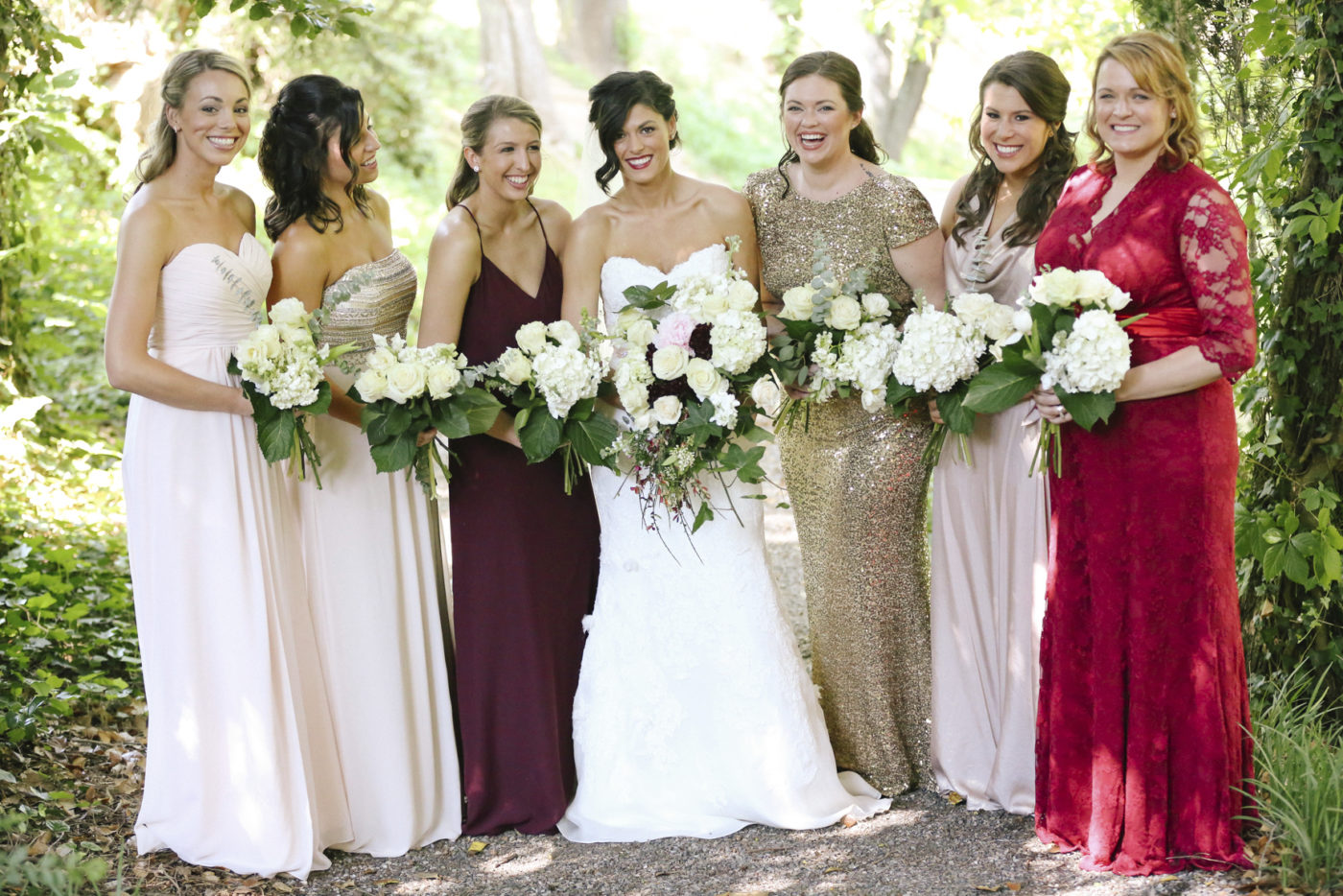 Here come the mismatched bridesmaids news sports jobs the here come the mismatched bridesmaids news sports jobs the intelligencer ombrellifo Gallery