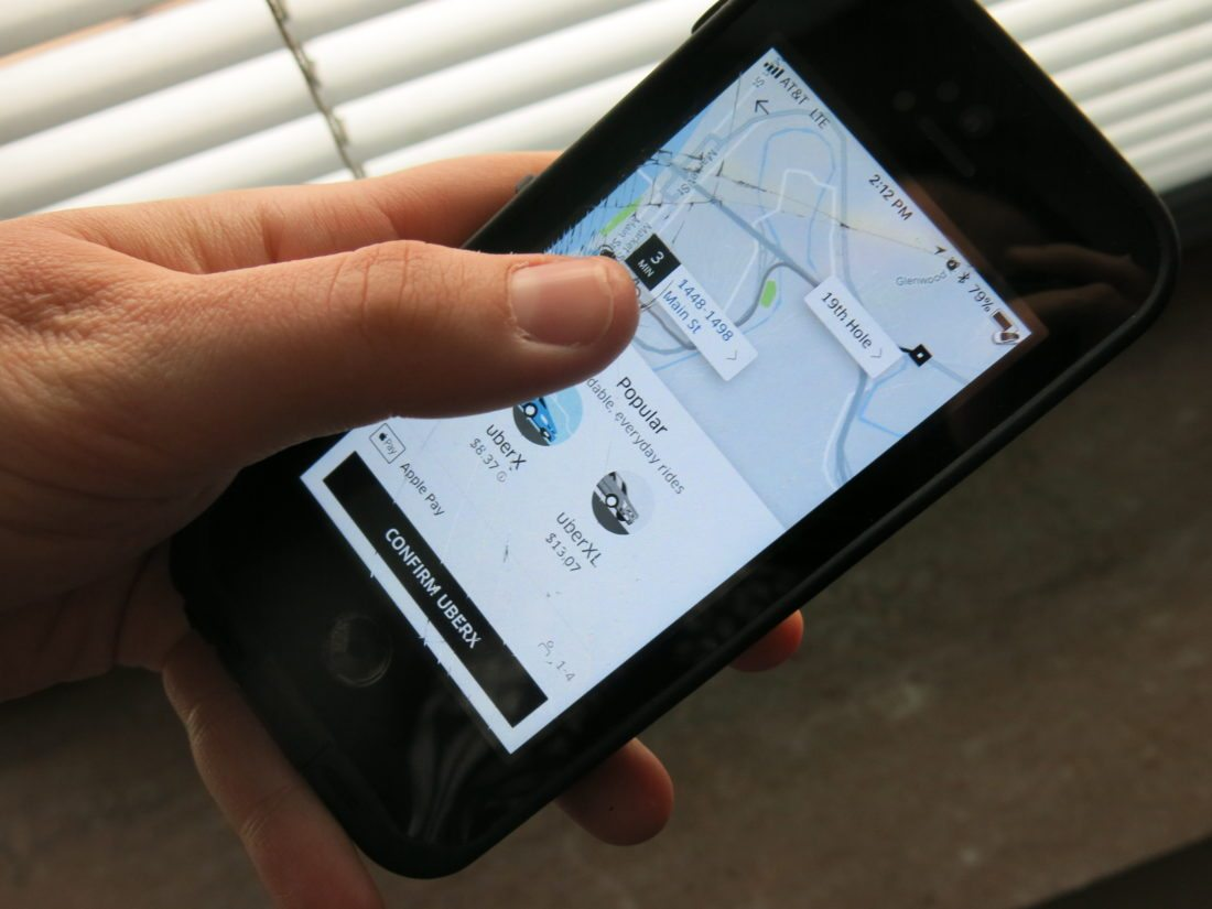 Photo by Jessica Broverman Sunday will mark the first New Year's Eve that the Uber ridesharing service is available in Wheeling. Several local drivers said they'll be on hand to give revelers a way to get home safely.