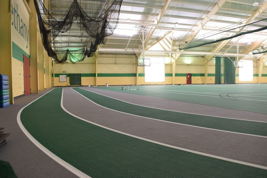 Shown are some of the renovations to Bethany's Thomas Phillips Johnson Health & Recreation Center.
