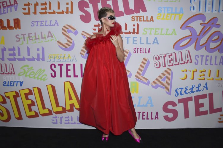 Katy Perry arrives at the Stella McCartney Autumn 2018 Presentation on Tuesday, Jan. 16, 2018, in Los Angeles. (Photo by Jordan Strauss/Invision/AP)