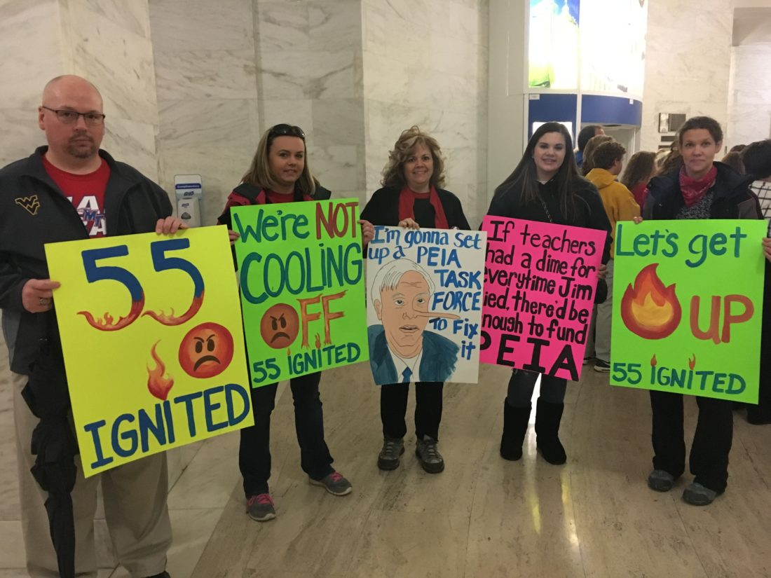 Why West Virginia Teachers Are On Their First Strike In 28 Years